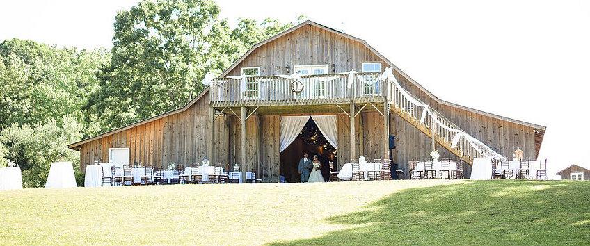 The Densmore Farm wedding Venue near Helen, Ga.