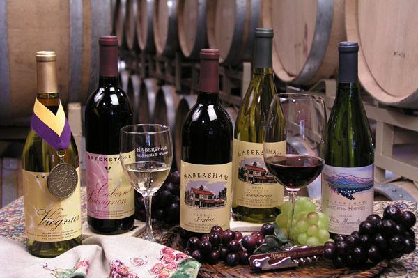 Habersham Vineyard and Winery near Helen, Ga.