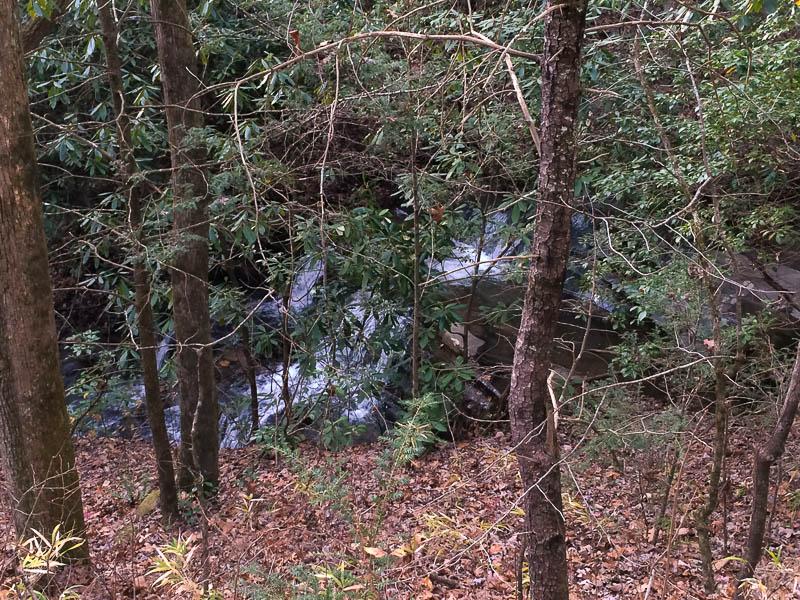 Waterfalls on Tray Mountain