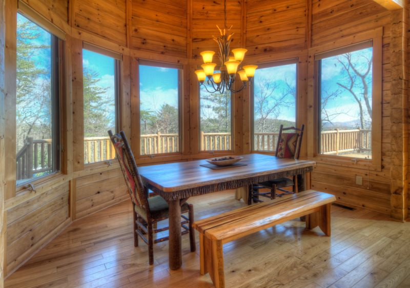 3 Bdr Luxury Log Cabin Vacation Rental Near Helen And