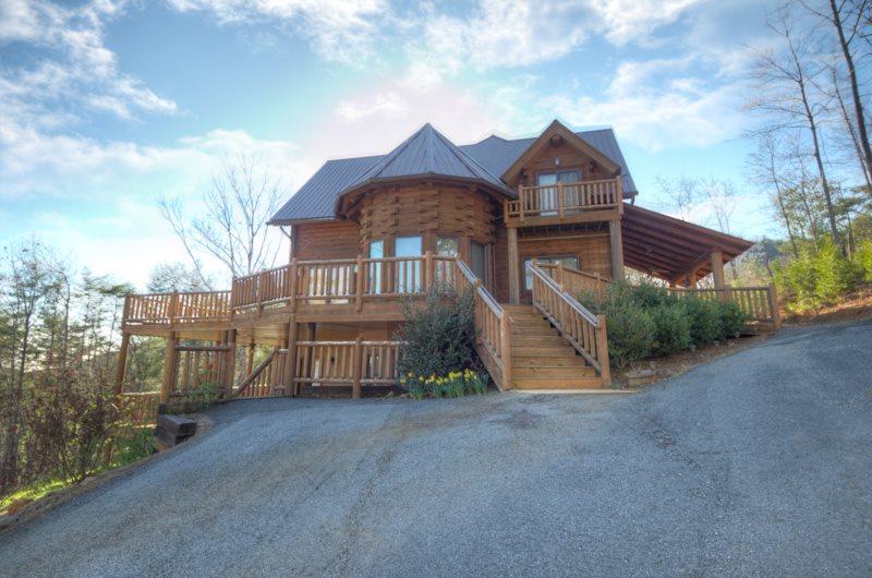 3 bdr luxury log cabin vacation rental near helen and for Helen luxury cabin rentals