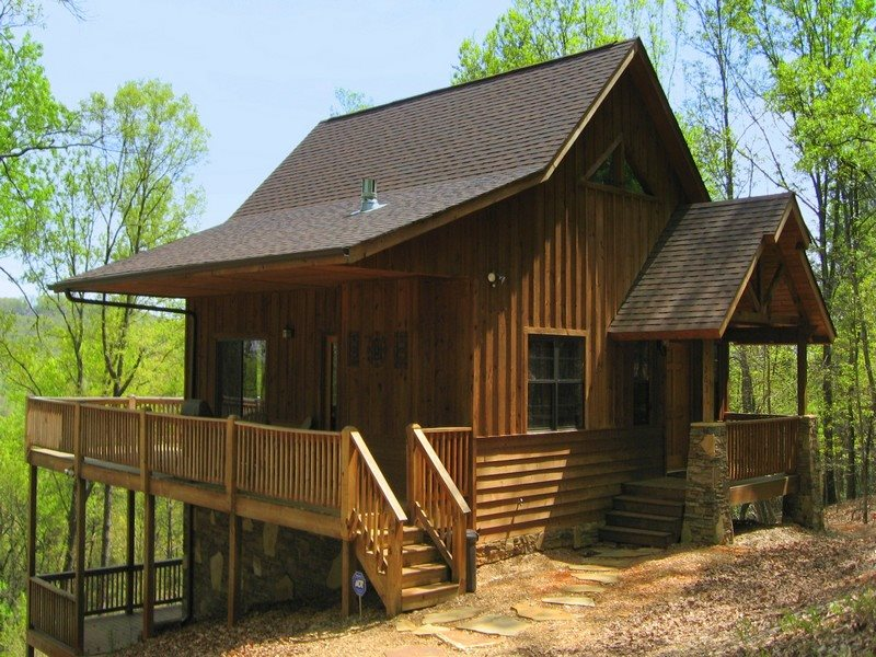 1 bdr deluxe cabin rental near helen ga four seasons for Helen luxury cabin rentals