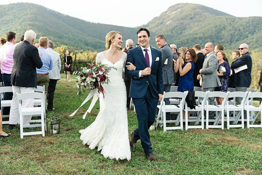 Yonah Mountain Vineyard wedding venue near Helen, Ga